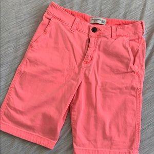 Abercrombie classic boys shorts